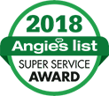 Angies List Super Service Award 2018