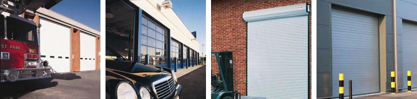 Commercial garage door, glass garage doors, rolling steel door, phoenix